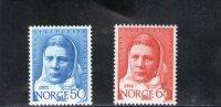 NORVEGE 1968 ** - Neufs