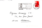 FLAMME SUR ENVELOPPE SAVERNE 67 TELEGRAPHE PARIS LANDAU CHAPPE - 1961-....