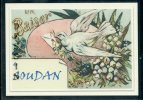 44 SOUDAN  ....  Souvenir Au Fusain Creation Moderne Série Limitée Et Numerotée 1 à 10 ... N° 3/10 - France