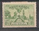 Centenaire De La Colonie De L´australie Du Sud 1s Vert - 1913-36 George V : Other Issues