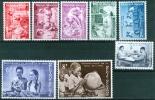 N° 1139-1146   XX 1960 - Bélgica