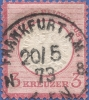 Germany, Reich 3 K. 1872, Sc #23, Used - Germany