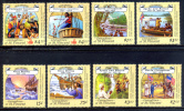 Grenadines St. Vincent / Explorers And Sailors Columbus Bering Livingstone Ships Boats Barcos Exploradores / C5122 - Cristóbal Colón