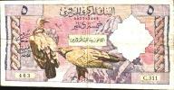 ALGERIA ALGERIE  P122  5  DINARS   1964   VF    6 Very Small P.h. ! - Algeria