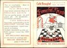 Kalender 1960 - Café Breughel Zottegem - De Krypte - Calendriers