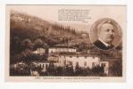 BARGA - Castelvecchio Pascoli - La Casa E L'orto Del Pascoli Visti Dall'alto - Cartolina FP NV VERSI POESIA DI PASCOLI - Italia