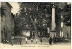 Carte Postale Ancienne Mirabeau - Place De La Fontaine - Frankreich