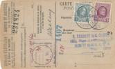 602/19 - Carte Caisse De Retraite TP Houyoux BOITSFORT 1926 - Griffe Et Cachet Admin. Communale WATERMAEL BOITSFORT - 1922-1927 Houyoux