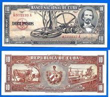 Cuba 10 Pesos 1960 Signature Che Guevara Que Prix + Port Peso Centavos Centavo Caraibe Paypal Skrill Bitcoin - Cuba