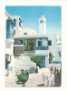 Cp, Tunisie, Sidi Bou Said, Cafe Des Nattes, Voyagée 1975 - Túnez