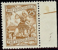 Yugoslavia 1951 MiNr 683 Printing Error Brown Line Right - Partially Missing Engravers Name MNH - Yougoslavie