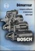 Technische Brochure BOSCH - Stuttgart - Démarreur - Auto