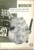 Technische Brochure BOSCH - Stuttgart - Regulateurs RQ - Auto