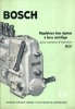 Technische Brochure BOSCH - Stuttgart - Regulateurs Tous Régimes - Auto