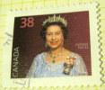 Canada 1988 Queen Elizabeth II 38c - Used - 1952-.... Reign Of Elizabeth II