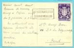 721  (toeslagzegel / Timbre Surtaxe)  Op Kaart - Briefe U. Dokumente