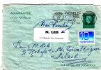 Card Sent To Israel - Period 1949-1980 (Juliana)