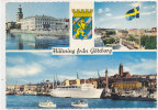 HALSNING Fran GOTEBORG - 3 Vues (paquebot ) - Suède