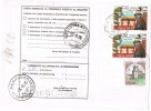 452-Italia Storia Postale 25.7.96 Pantelleria Kamma(TP)/Menfi(AG) Affr. 2 X £. 1.250 + £. 1.000 - 1946-.. République