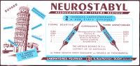 Buvard - Neurostabyl - Laboratoires Fournier - Produits Pharmaceutiques