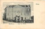 GORZE : Stadthaus, Hôtel De Ville. Dos Simple. 2 Scans. Edition Ets Arts Graphiques Luxembourg - Andere Gemeenten