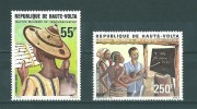 Haute- Volta:  494/ 495 ** - Haute-Volta (1958-1984)