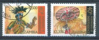 ZAMBIA - OBLIT/USED - 2004 - DANCER - Yv 1282+1285 Lot 5432 - Zambie (1965-...)