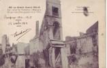 TERMONDE = La Grande Guerre 1914-15 = Les Ruines D'un Quartier De La Ville (écrite) 1915 - België