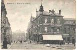 BINCHE-RUE DE LA STATION-HOTEL DE LA TOURELLE-BIERES DES TROIS SUISES-RARE-CARTE ENVOYEE-ANIMEE-VOYEZ 3 SCANS!!! - Binche