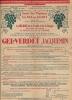 PUBLICITÉ , Gel.Verdet Jacquemin , Le Mildiou , Malzéville Prés Nancy , 1934 , 2 Scans - Advertising