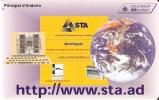 AND-071 TARJETA DE ANDORRA INTERNET - Andorra