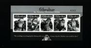 GIBRALTAR - 2006 CHRISTMAS NUMBERED BLACK PRINT MINT NH - Gibraltar