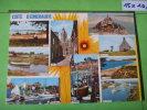 156) Bretagne:cote Emeraude : Multivuesvilde,st Benoit,st Malo,dol,cancale,st Michel,st Coulomb,cherrueix,le Vivier - Bretagne