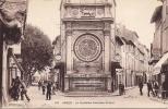 Cpa Arles, La Fontaine Amédée Pichot,bar,hôtel - Arles