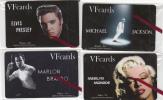 GREECE - Cinema, Set Of 4 VF Promotion Prepaid Cards, Tirage 50, Exp.date 31/12/10, Mint - Grèce