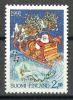 Finland 1991 ( Reindeer Pulling Santa's Sleigh ) - MNH (**) - Nuevos
