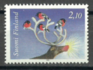 Finland 1994 ( Christmas - Reindeer, Bullfinches On Antlers ) - MNH (**) - Nuevos
