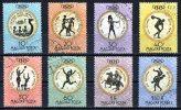 Hungary 1960 Rome Olympics 8 Values To 1.4Ft Used - Hungary