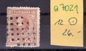 Suriname   Nr. 12   O   (a7021) Siehe Scan - Surinam ... - 1975