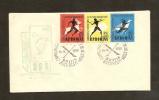 Romania 1957 - Michel 1666-1668 , FDC - FDC