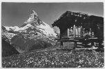 1012 - AK Zermatt, Findeln Und Matterhorn - 1955 - VS Valais