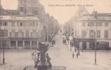 """¤¤  -  CHALONS-sur-MARNE   -   Rue De Marne  -  Banque """" Société Générale """"  -  Magasin De Mode   -  ¤¤ - Châlons-sur-Marne"""