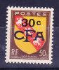 Réunion CFA N°283 Neuf Sans Charniere - Ungebraucht