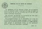 België - Dienstpostkaart - Spa - Aankondiging Speciale Stempel/tijdelijk Postkantoor - Congres Magische Kunst (1963) - Gefälligkeitsabstempelung