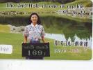 Télécarte Japon * TELEFONKAART JAPAN * GOLF  (2411) HOLE IN ONE *  SPORT * PHONECARD * TELEFONKARTE - Sport