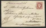 1871 - Reko Einschreiben 5 Kr Ganzsachenumschlag + 10Kr Zusatzfrankierung - Zurückbefördert - 1850-1918 Imperium