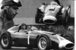 Juan Manuel Fangio    -  1956  -   Lancia-Ferrari   -  Photo Montage 15 X 10 - Grand Prix / F1