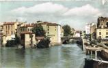 Postal MONT De MARSAN (Landes) 1971- Pont Et Le Bord De La Midouze - Mont De Marsan