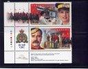CANADA, 1998, # 1737a,  Royal Canadian Mounted Police 125 Th Anniv.  Pair   MNH - 1952-.... Règne D'Elizabeth II