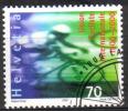 Zu  989 / Mi 1715 / YT 1653 100 Ans UCI Sport Cyclisme Obl. - Switzerland